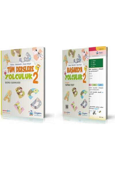 Üçgen Yayıncılık 2. Sınıf Tüm Dersler+ Başarıya Yolculuk ( Yaprak Test) 2 Kitap