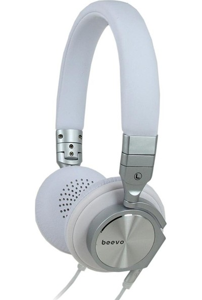 Bevo BV-HM810 Hifi Stereo Kulaklık Beyaz