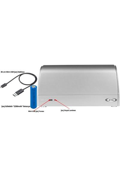 Htm Violet Smart Bataryalı ve Çok Fonksiyonlu Sahte Para Kontrol Cihazı