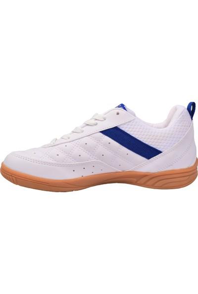 Lig Monaco Indoor 01 Hentbol Voleybol Futsal Unisex Spor Ayakkabı Beyaz