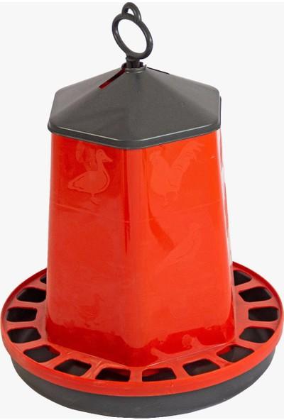 Namver Kuş Tavuk Yemlik Plastik Askılı 15 kg Yem Kapasiteli