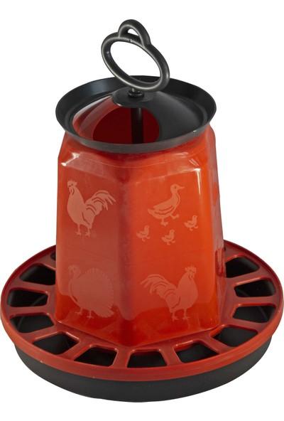Namver Kuş Tavuk Yemlik Plastik Askılı 1.5 kg Yem Kapasiteli