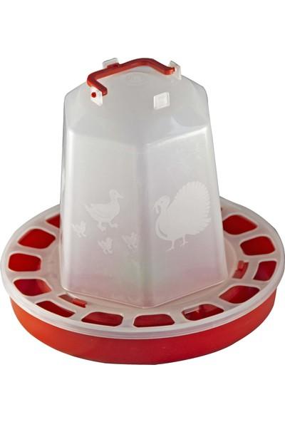 Namver Kuş Tavuk Suluk Plastik Askılı 8 lt Su Kapasitesi