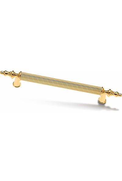 Demaks Kumru Altın Lüks Mobilya Dolap Çekmece Kulp 96 mm