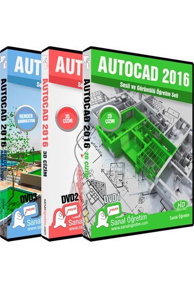 Autocad 2016 Video Eğitim Seti
