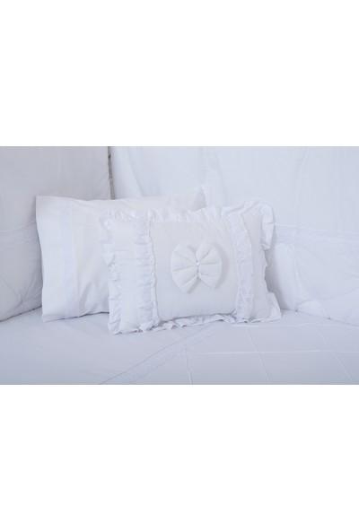 Maya Baby Star Bebek Uyku Seti 60 x 120 cm - Beyaz