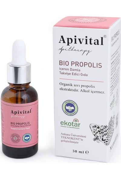 Apivital Organik Alkolsüz Sıvı Propolis 30 ml