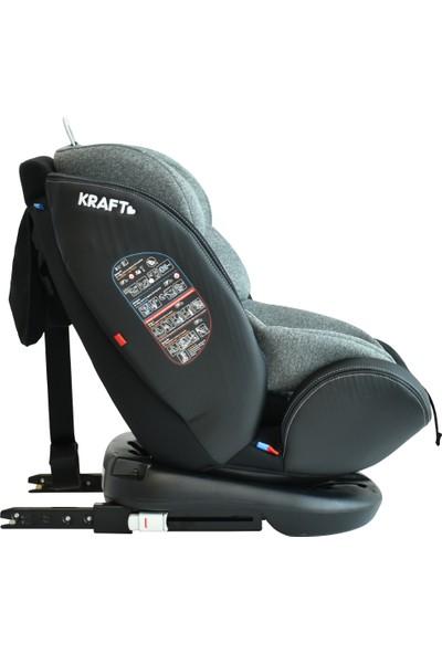 Kraft Spin Fix 0-36 kg 360° Dönebilen İsofix'li Oto Koltuğu Grup 0-1-2-3