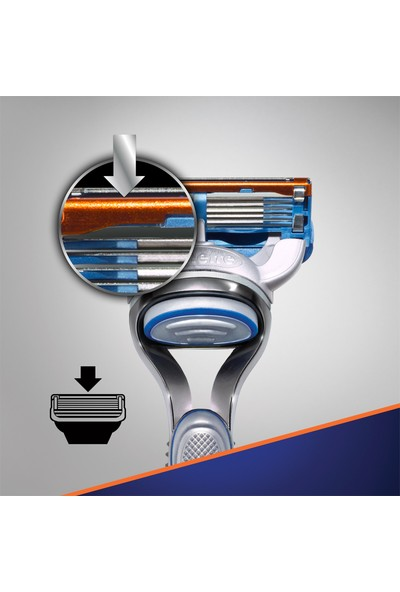 Gillette Fusion Makine + 75 ml Jel