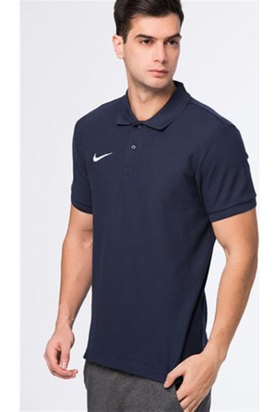 Nike Py T-Shirt Cotton Lacivert - S