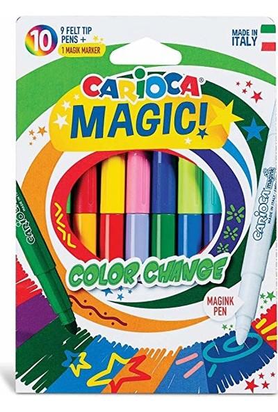 Carioca Renk Değiştiren Sihirli Keçeli Kalemler (9 Renk + 1 Renk)