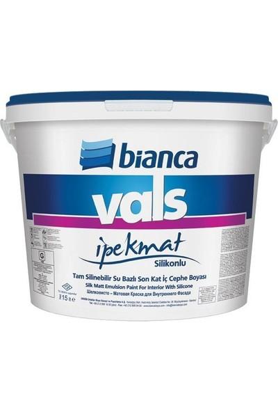Bianca Vals İpek Mat Silikonlu Tam Silinebilir 7.50 lt 1087 Kırık Beyaz