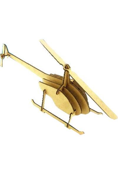 Alsa Helikopter Ahşap Maket