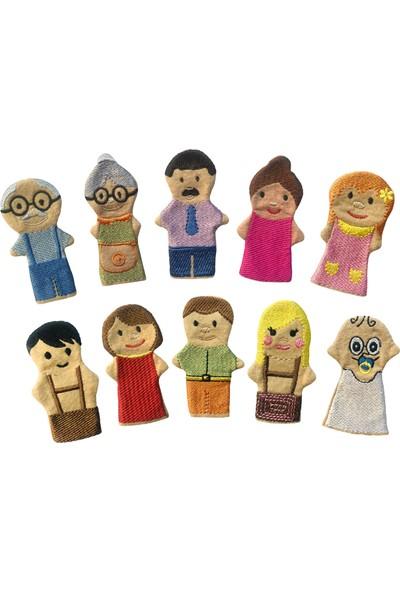 Anki Toys Parmak Kukla Seti İnsanlar 10'lu