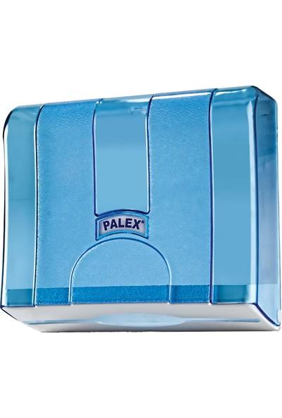 Palex Z Katlı Kağıt Havlu Dispenseri Şeffaf Mavi 3570-1