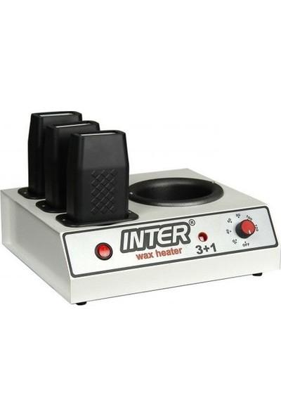 Inter Wax Heater 3 + 1 Kombine Ağda Makinesi