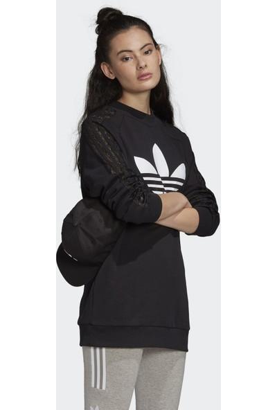 adidas Fm1752 Lace Sweatshirt Kadın Sweatshirt