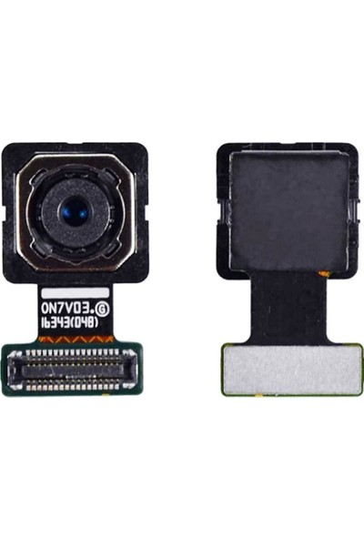 Ekranbaroni Samsung Galaxy G610 J7 Prime Arka Kamera Flex