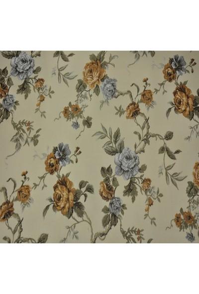Ata Exclusive Fabrics Laura Serisi Çiçekli Döşemelik Kumaş 1 m