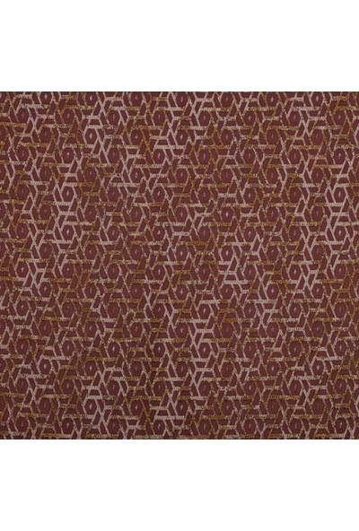 Ata Exclusive Fabrics Arya Serisi Geometrik Desenli Döşemelik Kumaş 1 m