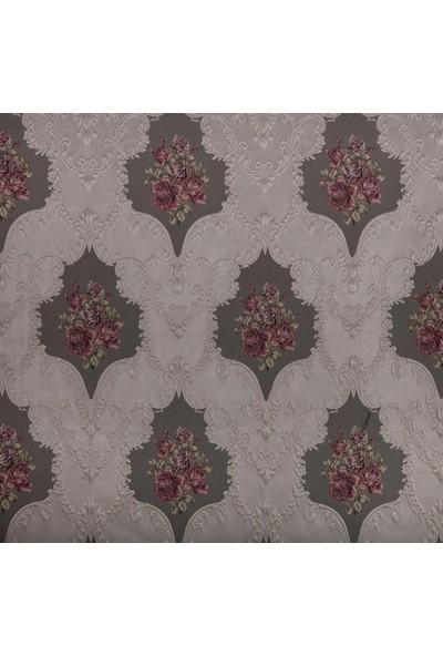 Ata Exclusive Fabrics Famore Serisi Damask Desenli Döşemelik Kumaş 1 m