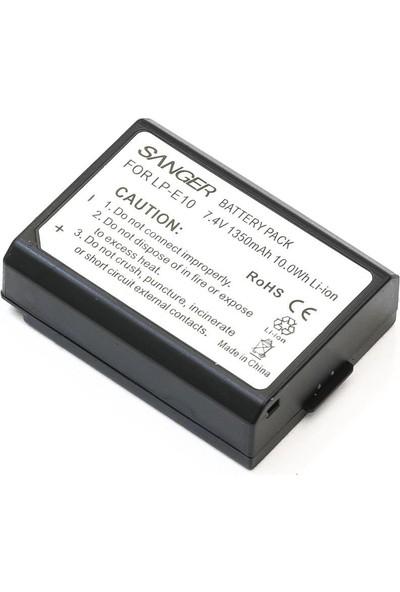 Sanger Canon LP-E10 Batarya 1100D/1200D/1300D
