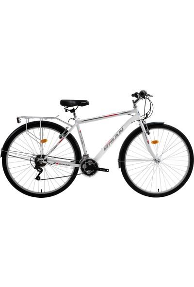 Bisan Cts 5200 Şehir Bisikleti 28 Jant Beyaz