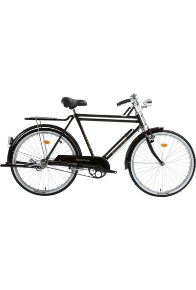Bisan Roadstar Classic Hizmet Bisikleti 2020 Üretim 26 Jant Çubuk Fren Siyah