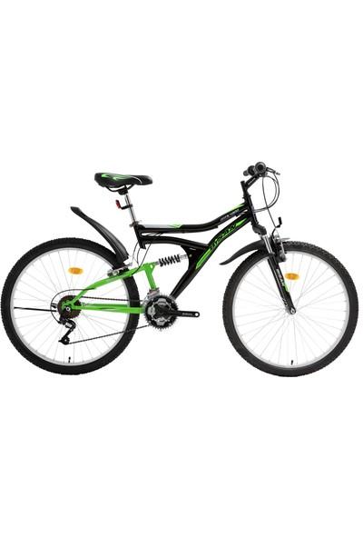 Bisan Mts 4300 Dağ Bisikleti 26 Jant Siyah-Yeşil