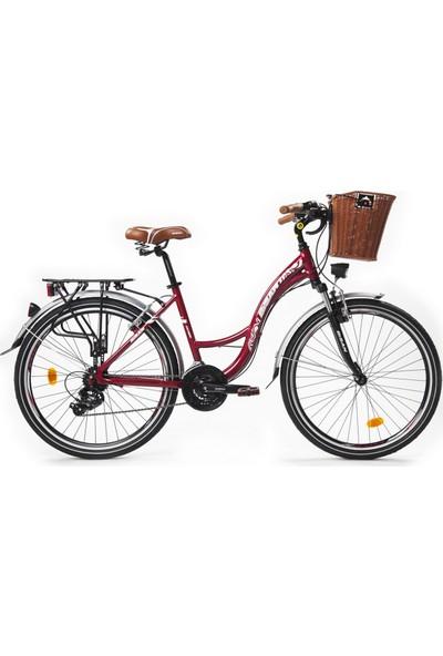 Bisan Ctx 6100 Şehir Bisikleti 26 Jant Bordo
