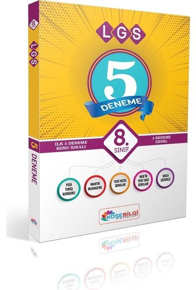 Köşe Bilgi Yayınları 8.sınıf Lgs 5 Deneme Sınavı