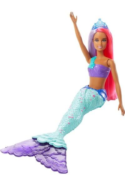 Barbie Dreamtopia Denizkızı Bebek Mor Kızıl Saçlı GJK07 - GJK09