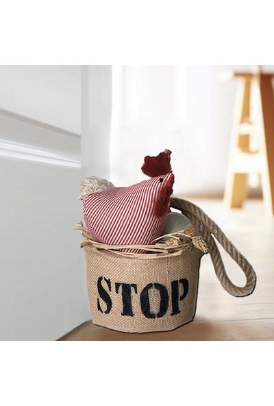 Db Handmade Arts & Crafts Kapıönü Ağırlığı- Door Stopper / Tavuklu 15 x 25 cm