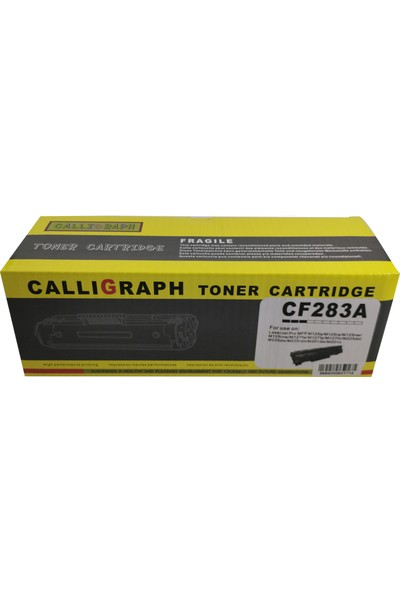 Callıgraph 83A - Cf 283A Uyumlu Muadil Toner 1500 Sayfa Siyah
