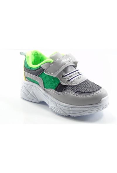 Callion 1453 Buz Yeşil Hafif Taban 22-25 Çocuk Sneaker