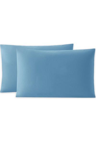 Yataş Bedding Aria Yastık Kılıfı 2'li (50X70 Cm) - Koyu Mavi