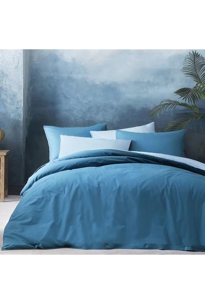 Yataş Bedding Noah Ranforce Nevresim Seti (Çift Kişilik Xl) - K.mavi/mavi