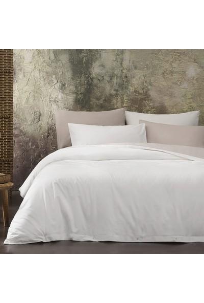 Yataş Bedding Noah Ranforce Nevresim Seti (Çift Kişilik) - Açık Kahve/ekru