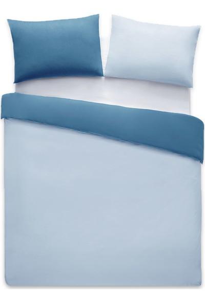 Yataş Bedding Noah Ranforce Nevresim Seti (Tek Kişilik) - K.mavi/mavi