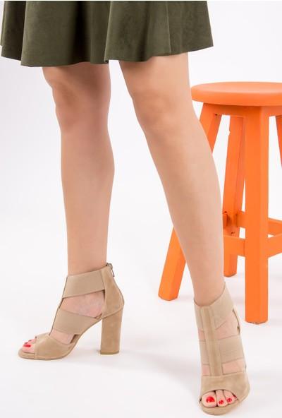 Fox Shoes Ten Kadın Topuklu Ayakkabı H283287602