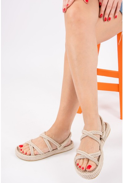 Fox Shoes Ten Kadın Sandalet H596011704