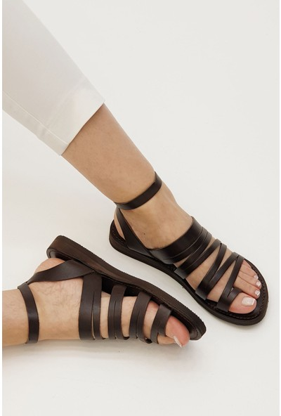 Marjin Kadın Saper Düz Sandalet