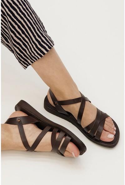 Marjin Kadın Alente Düz Sandalet