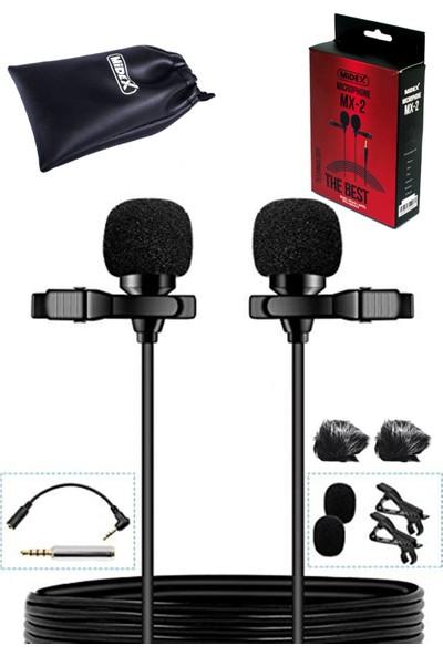 Midex MX2 Üst Seviye Youtuber Yaka Mikrofonu