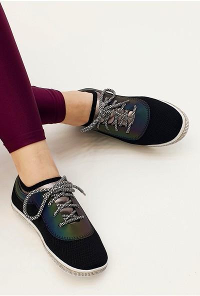Marjin Kadın Letel Düz Günlük Ayakkabı