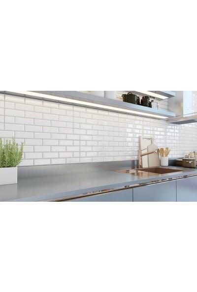 Seramiksan Mutfak Tezgah Arası Seramik Tuğla Desenli Oscar 30 x 60 cm