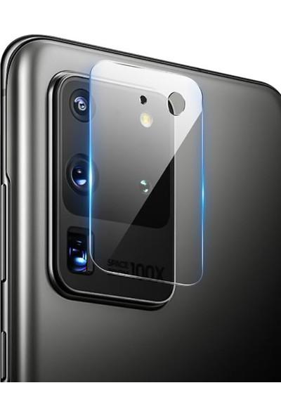 Kny Samsung Galaxy S20 Ultra Kamera Ekran Koruyucu
