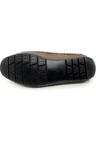 Pabucchi 006 Erkek Kahverengi Çarık Model Yazlık Ayakkabı