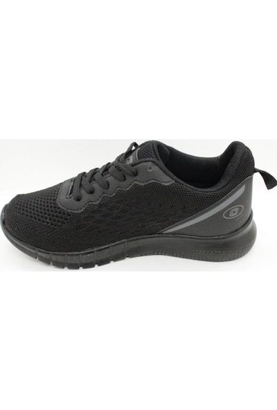 Pabucchi Conpax 5062 Siyah Kadın Günlük Spor Sneaker Ayakkabı