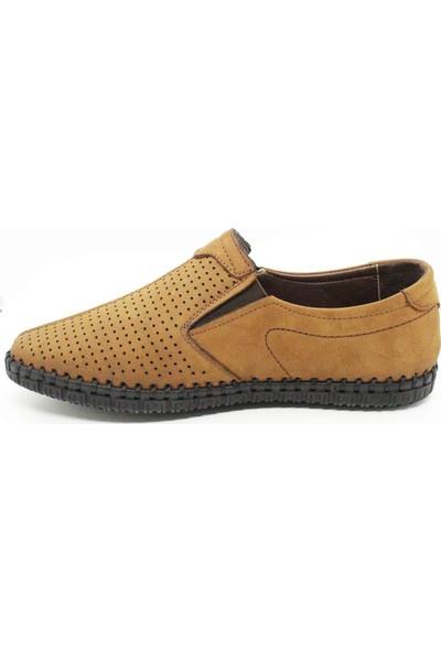 Dr.Pabucchi Erkek Taba Nubuk Deri Comfort Günlük Ayakkabı